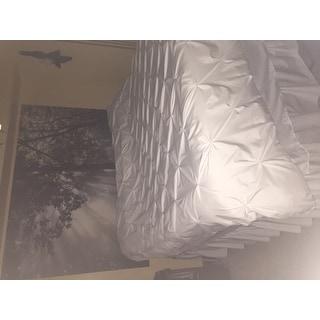 Porch & Den Lakeshore Luxury 3-piece Pinch Pleat Duvet Cover Set