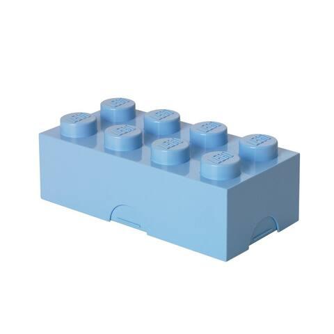 LEGO Lunch Box, Light Blue - Multi