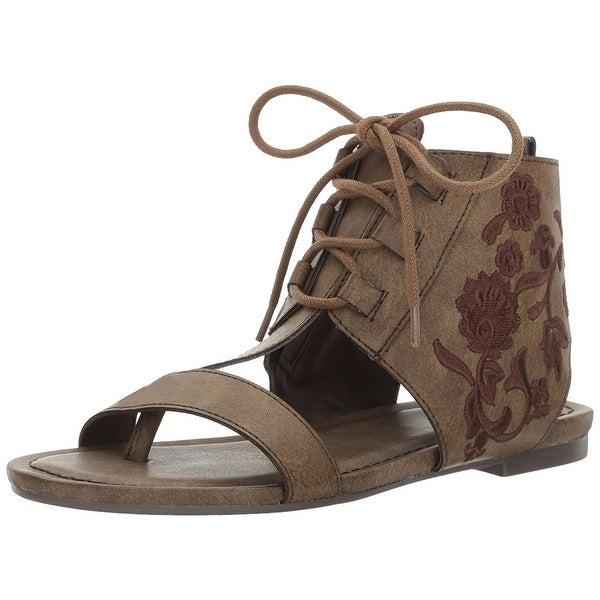 Sugar Womens watercress Open Toe Casual Ankle Strap Sandals