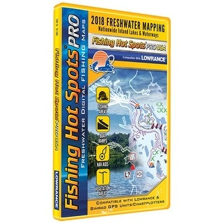 """Fishing Hot Spots PRO FW - Fishing Chip E118 Digital Map And Fishing Chip"""