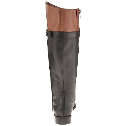 Naturalizer Womens Josette Leather Round Toe Knee High Fashion Boots