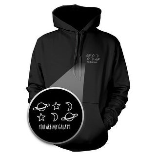 You Are My Galaxy Hoodie Pocket Hooded Sweatshirt Graphic Sweater