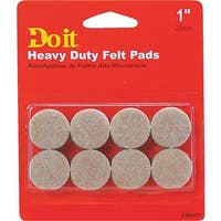 "Shepherd Hardware 16Pc 1"" Felt Grd Pad 236845 Unit: EACH"