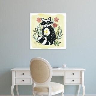Easy Art Prints Grace Popp's 'Floral Forester I' Premium Canvas Art