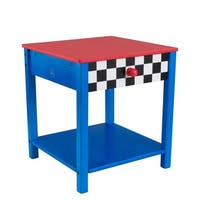 KidKraft Race Car Side Table