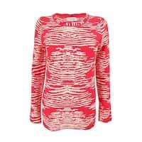 Calvin Klein Women's Long Sleeves Crew Neck Sweater