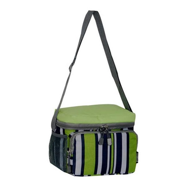 3c48a9188c Shop Everest Cooler Lunch Bag (Set of 2) Lime Navy Stripe - US One Size  (Size None) - On Sale - Free Shipping On Orders Over  45 - Overstock -  25691353