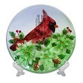 Holiday Decorative Cardinal Plate - Thumbnail 0