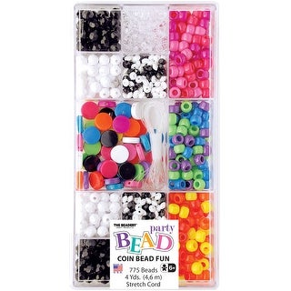 Party Bead Box Kit-Opaque Coin