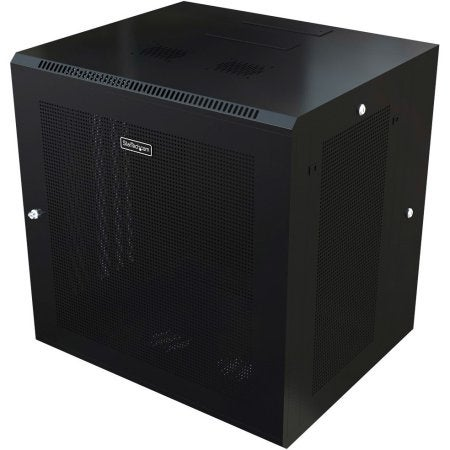 Startech - 12U Wall-Mount Server Rack Cabinet - 32 In. Deep - Hinged