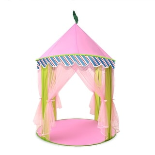 ODOLAND Princess Castle Children Play Tent for Kids Indoor u0026 Outdoor Pink Playhouse  sc 1 st  Overstock.com & Playhouses u0026 Play Tents For Less | Overstock.com