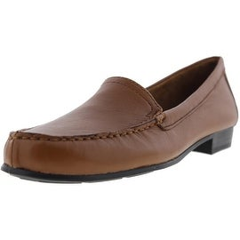 Naturalizer Womens Simmons Leather Moc Toe Loafers - 7 narrow (aa,n)
