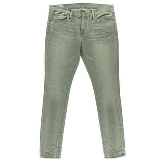 Polo Ralph Lauren Womens Distressed Mid-Rise Skinny Jeans