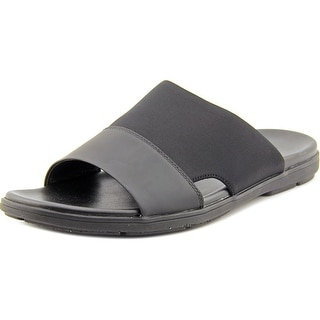 Kenneth Cole NY De-Lite Men  Open Toe Leather  Slides Sandal