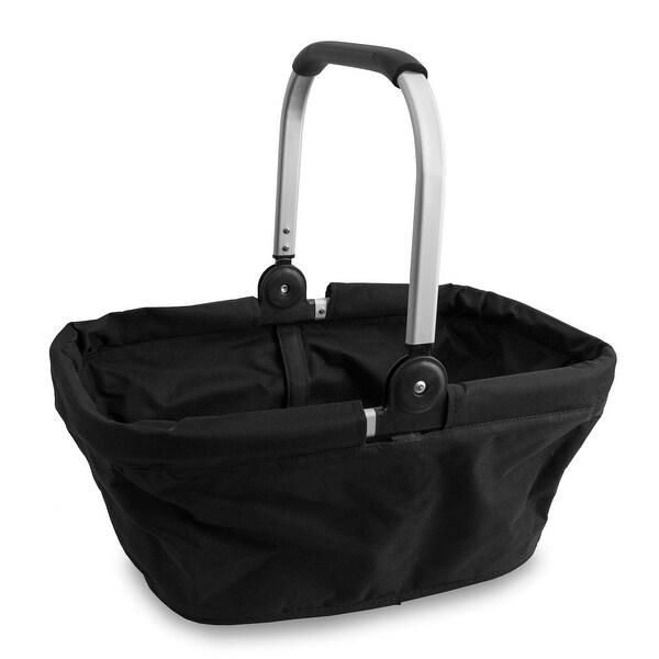 Aluminum Market Basket Black