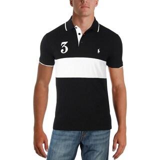 Polo Ralph Lauren Mens Polo Custom Fit Short Sleeves - M