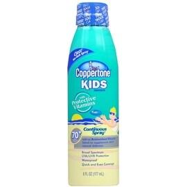 Coppertone Kids Continuous Spray Sunscreen SPF 70+ 6 oz
