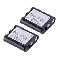 Replacement For Panasonic N4HKGMA00001 Cordless Phone Battery (850mAh, 3.6v, NiCD) - 2 Pack