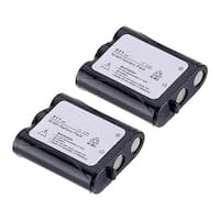 Replacement Battery For Panasonic KX-TG2215 Cordless Phones - P511 (850mAh, 3.6v, NiCD) - 2 Pack