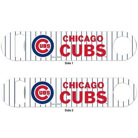 Chicago Cubs 2-Sided Metal Bottle Opener