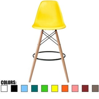 2xhome - 26-inch Modern Chair Colors DSW Counter Stool Barstool
