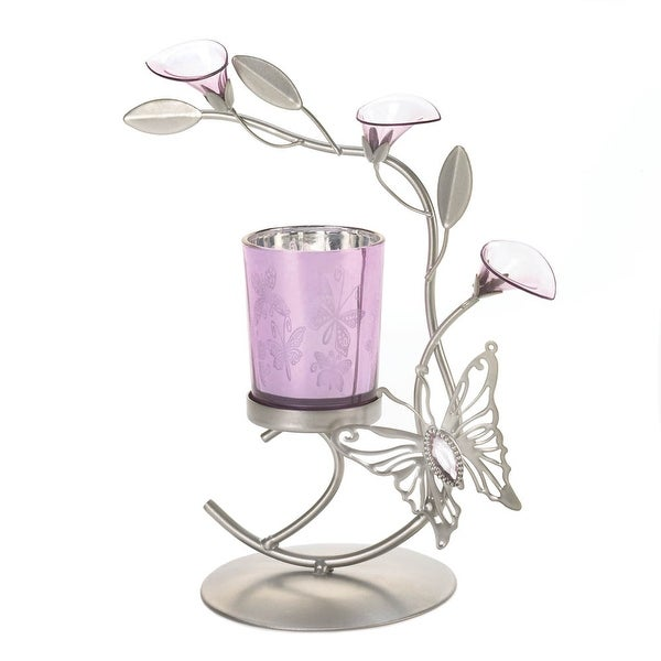 Newly Butterfly Lily Candle Holder