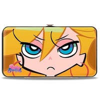 Panty & Stocking Logo Panty + Stocking Faces Close Up Hinged Wallet - One Size Fits most