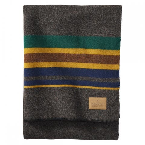 Pendleton Yakima Camp Oxford Twin Blanket