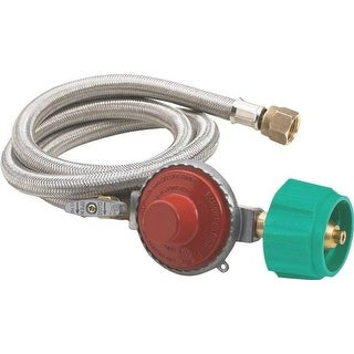 Bayou Classic M5HPR-1 Hose & Regulator, 10 PSI
