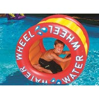 """45"""" Water Sports Inflatable Water Wheel Swimming Pool Raft Toy"""
