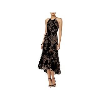 Vince Camuto Womens Special Occasion Dress Velvet Halter - 12