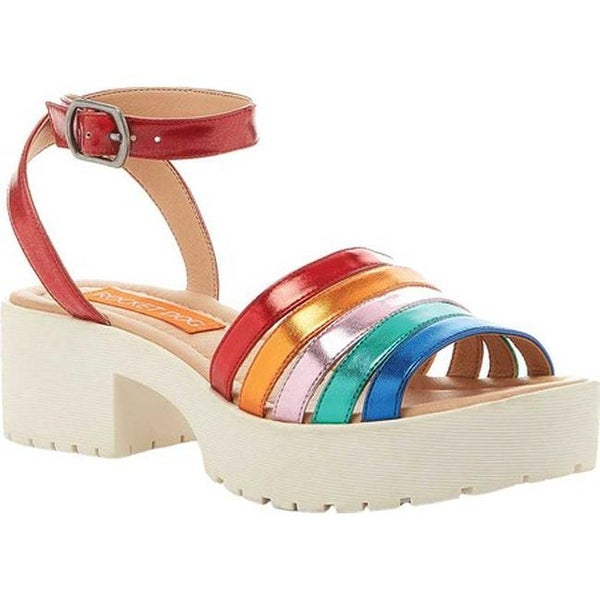 49e391d27833 Shop Rocket Dog Women s Simm Platform Sandal Rainbow Shimmy Multi PU ...
