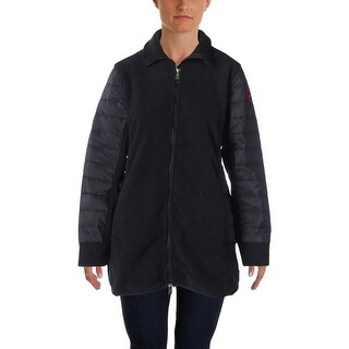 L-RL Lauren Active Womens Fleece Jacket Fleece Long Sleeves