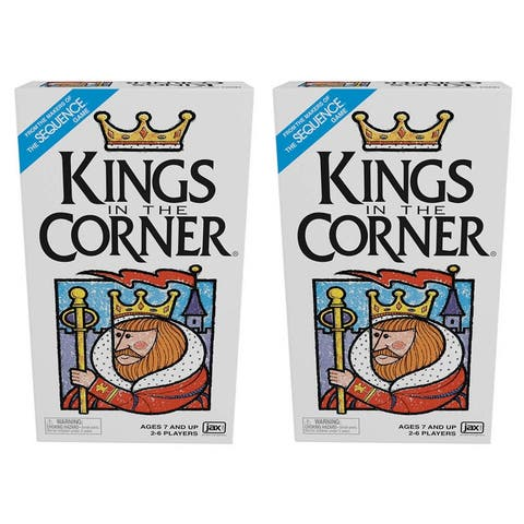 King's in the Corner Card Game, Pack of 2