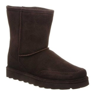 Bearpaw Men's Brady Mid Calf Boot Chocolate Cow Suede
