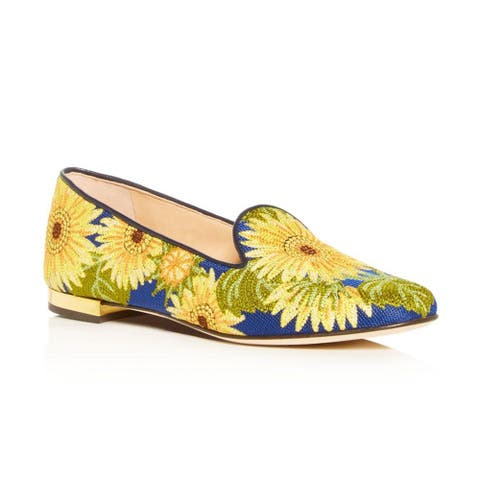 Charlotte Olympia Women's Sunflower Loafers Blue