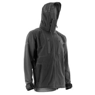 Huk Men's Next Level Kryptek Black Medium All Weather Jacket