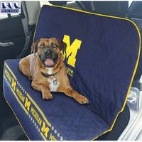 Pets First Collegiate Michigan Wolverines Pet Car Seat Cover