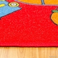 """AllStar Rugs Kids / Baby Room Area Rug. Bright Colors with Capital and Lowercase Letters (7' 3"""" x 10' 2"""") - Thumbnail 2"""