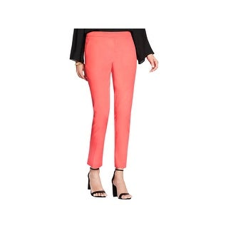 Vince Camuto Womens Casual Pants Classic Fit Cotton