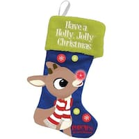 Rudolph the Red Nose Reindeer Large LED Stocking