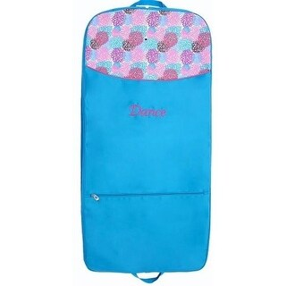 Blooms Garment Bag with Embroidered Dance & Screen Printed Design