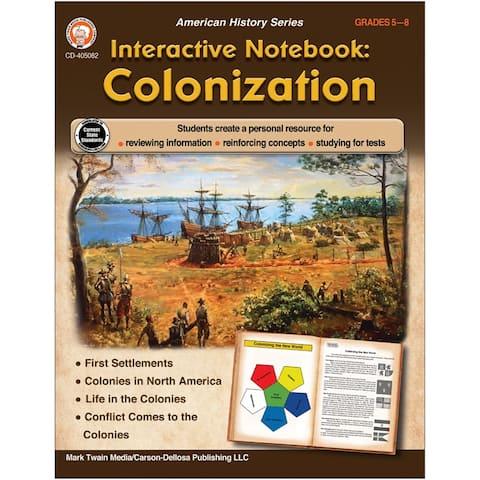 Interactive Notebook: Colonization Resource Book, Grade 5-8
