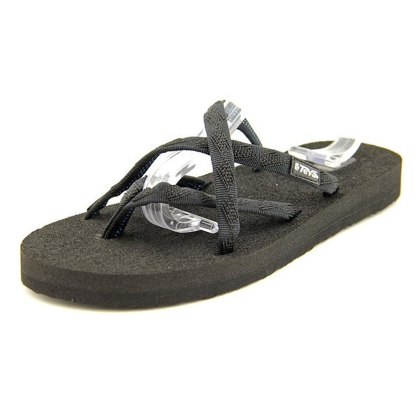4cd704878 Shop Teva Olowahu Mix B Black On Black Sandals - Free Shipping On ...