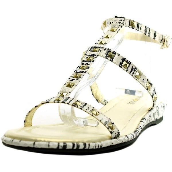 Seven Dials Candle Women Black/Snake print Sandals