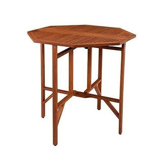 Southern Enterprises OD6961, Trinidad Outdoor Dining Table - brown