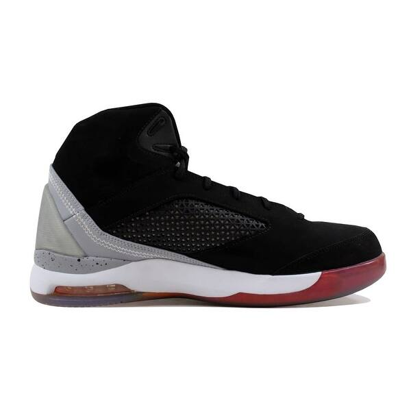 hot sales afe0e 26631 ... Nike Men s Air Jordan Flight Remix Black Electric Orange-Wolf  Grey-Fusion Pink ...