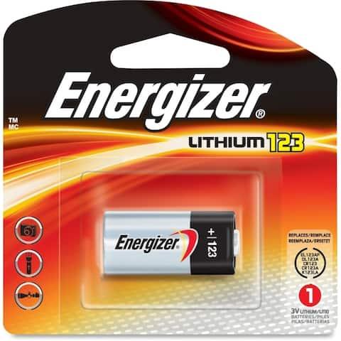 Energizer e2 el123 lithium digital camera battery el123apbp