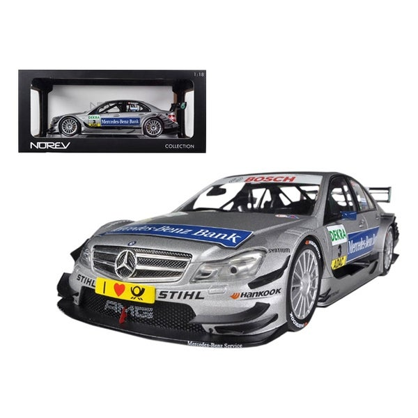 Shop Mercedes C Class DTM 2011 #3 Spengler 1/18 Diecast Car Model by Norev - Free Shipping Today ...