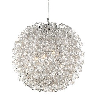 "Platinum PCPG2816 Pageant 4 Light 16"" Wide Pendant with Metal Shade"